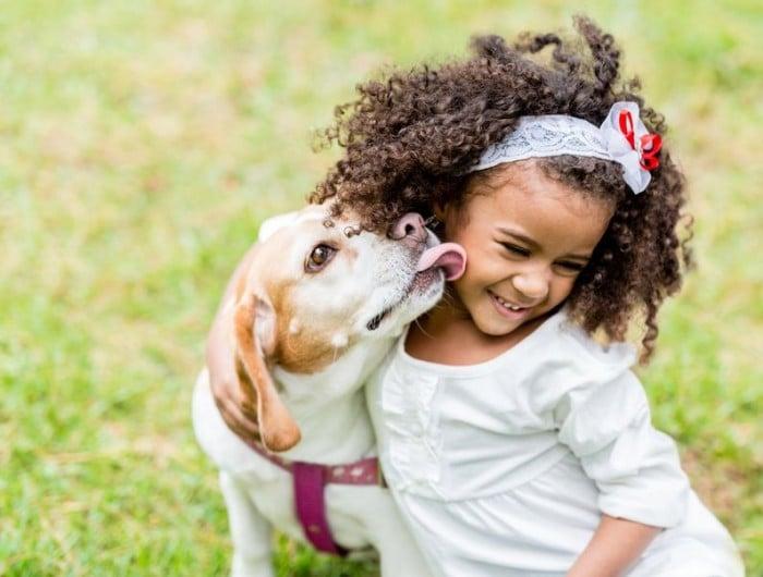 perros y ni%C3%B1os e1452526057101 - Las cinco mejores mascotas para los niños