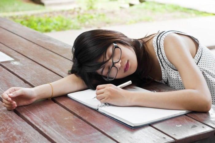 La falta de energía de los adolescentes