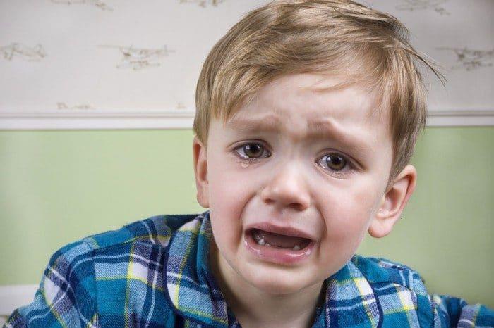 Llorar es bueno para la felicidad de los niños
