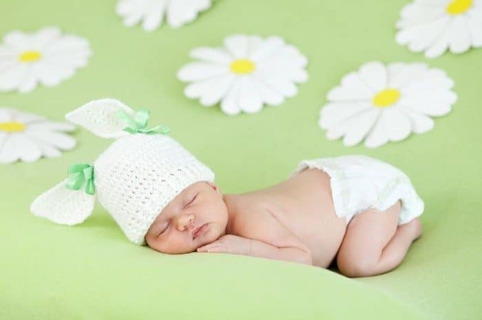 Sonidos calman bebé recién nacido