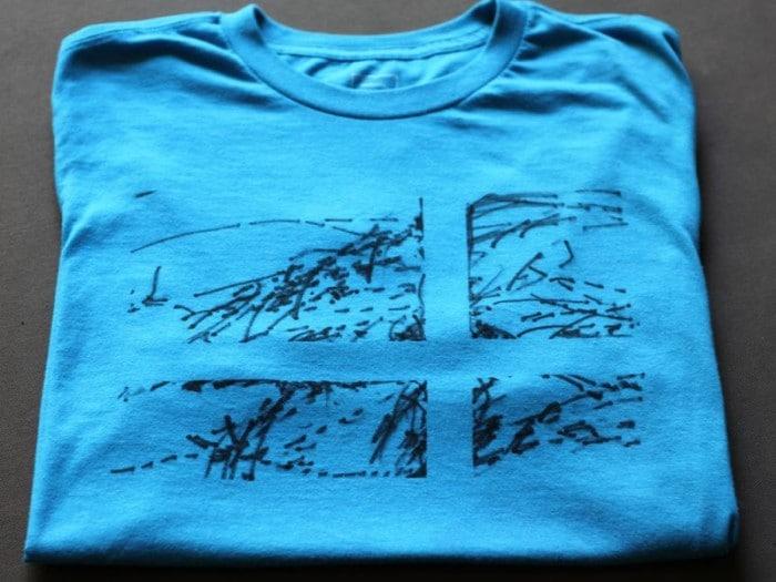 Camiseta personalizada con garabatos infantiles Manualidades para el Día del Padre