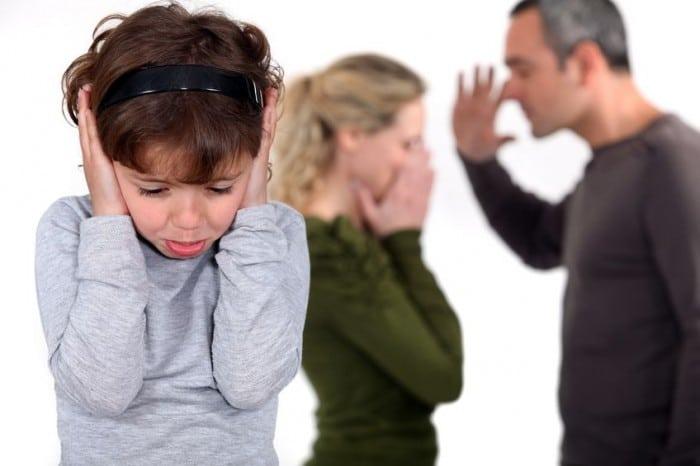 Discrepancias en la pareja por la crianza de hijos