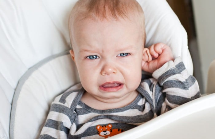 Otitis media aguda en niños