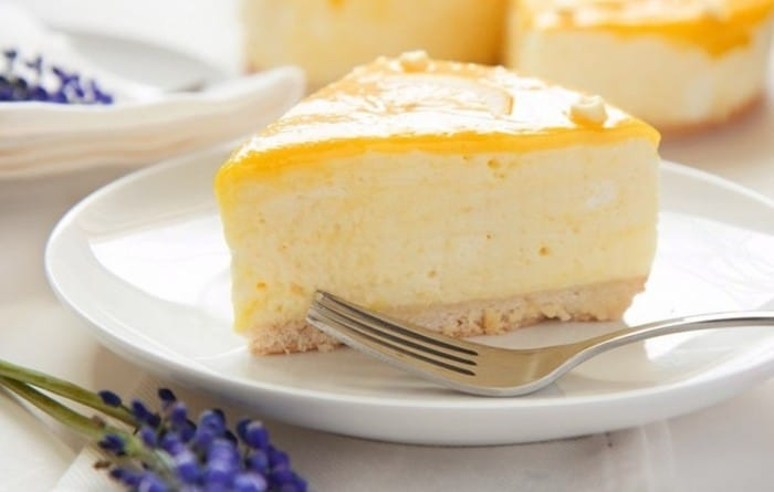 Receta Torta de yogurt y limón