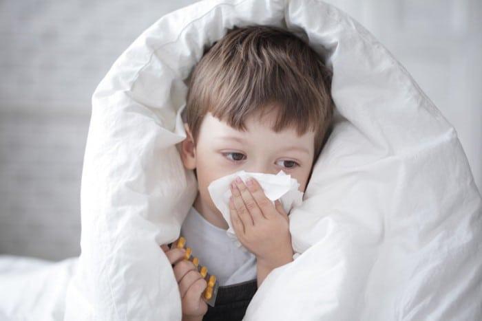 Rinofaringitis en niños