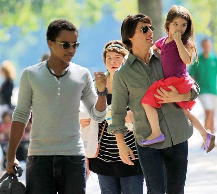 Tom Cruise hijos