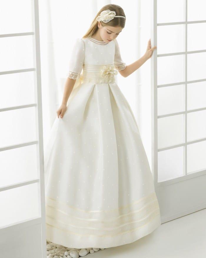 Vestido de comunión niña Rosa Clara 2016