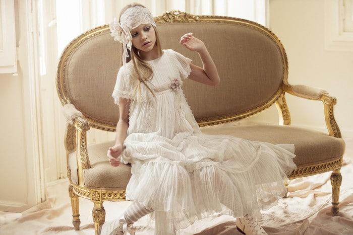 Vestidos de comunión niña Hortensia Maeso 2016