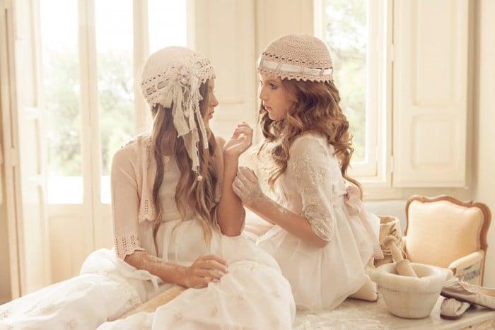 Vestidos de comunión para niñas Hortensia Maeso 2016
