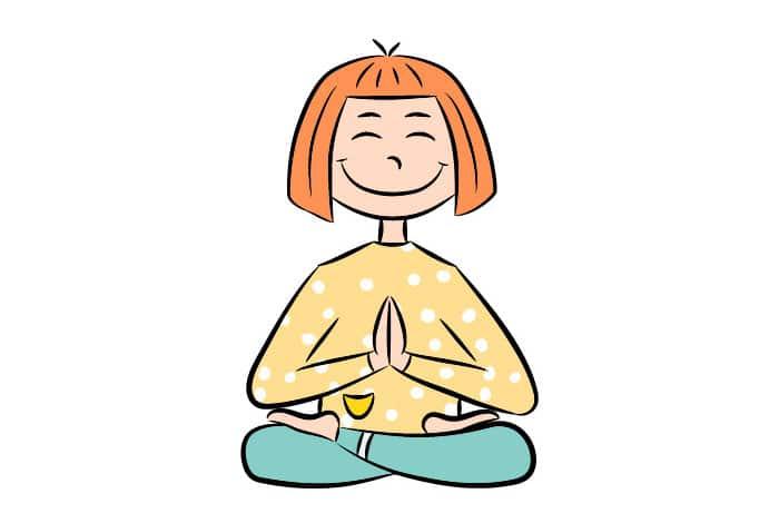 Yoga postura montaña