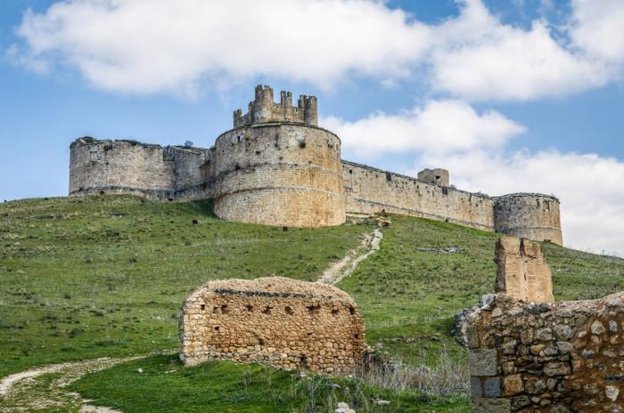 Berlanga de Duero Castillo, Provincia de Soria, Castilla y León, España