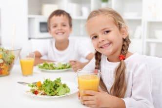 Bajar el colesterol en niños