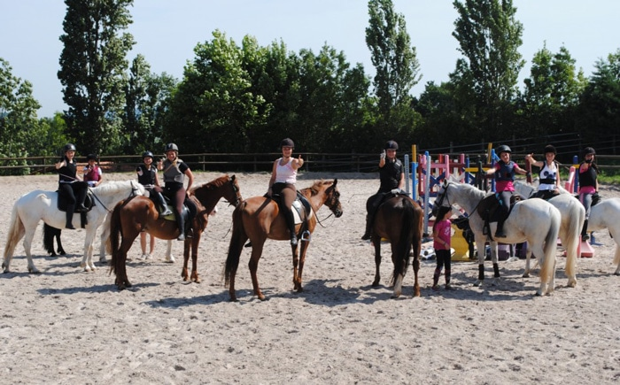 Campamento de verano Club Ecuestre Miracampos, en País Vasco