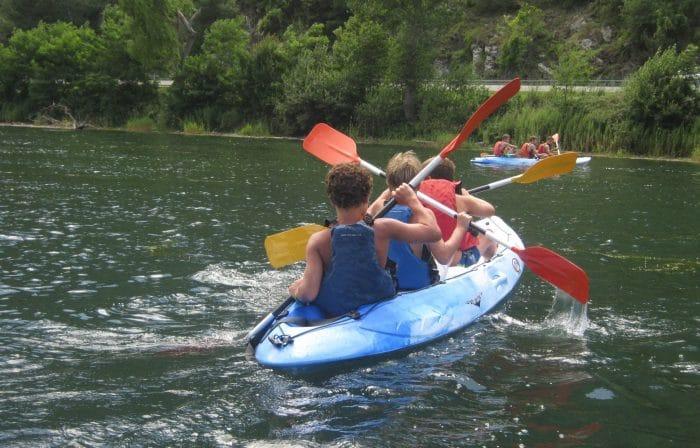 Campamento de veranoEncantaria, enPirineo Catalán