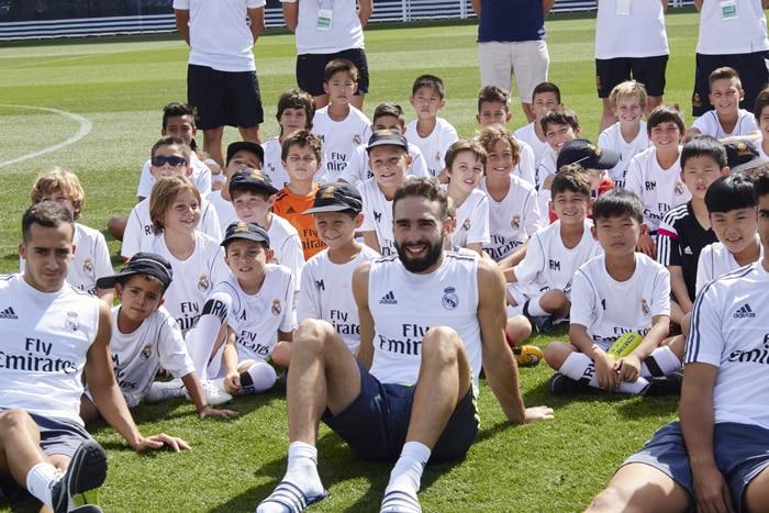 Campamento de fútbol Experience Real Madrid, en Madrid
