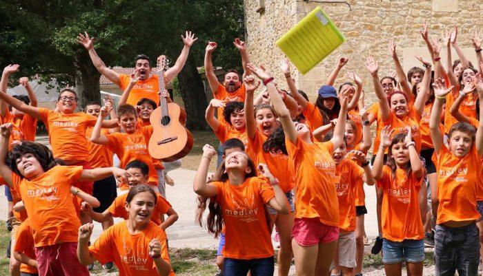 Campamento de verano Musical Medley, en Burgos