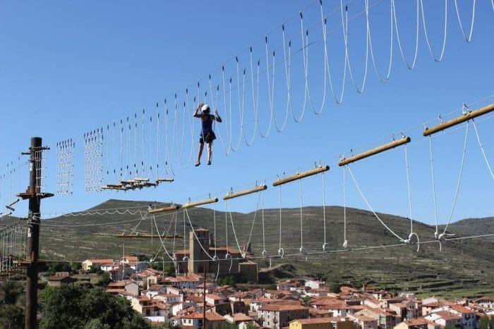 Circuito Xtreme en elBarranco Perdido, en La Rioja