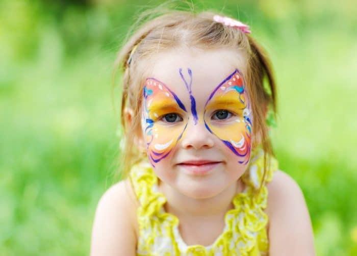 Cuando los niños se convierten en mariposa