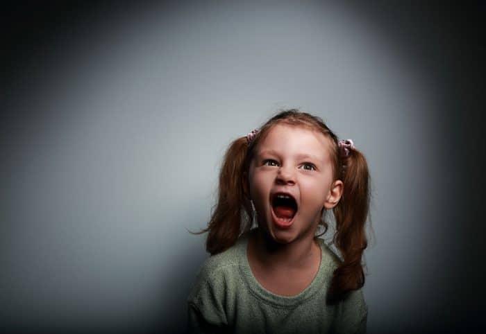 El comportamiento agresivo del niño con esquizofrenia