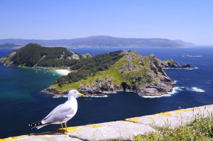 Islas Cíes, Vigo, Pontevedra, Galicia, España