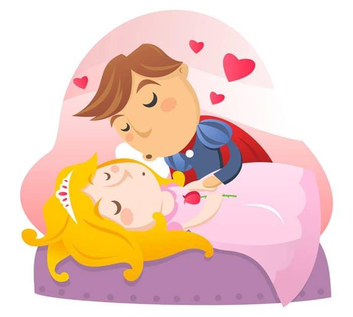 La bella durmiente cuento corto infantil