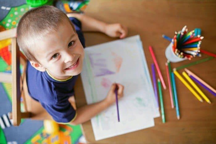 Los beneficios de colorear para los niños - Etapa Infantil