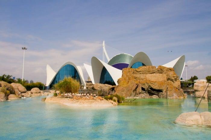 Oceanografic, en Valencia, España