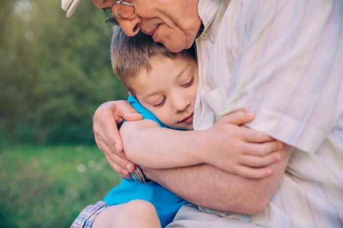 Relacion abuelos nietos
