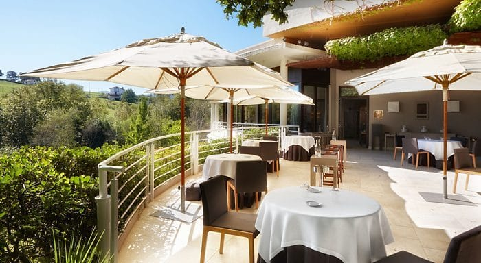 Restaurante con estrella Michelin Martín Berasategui, en Gipuzkoa
