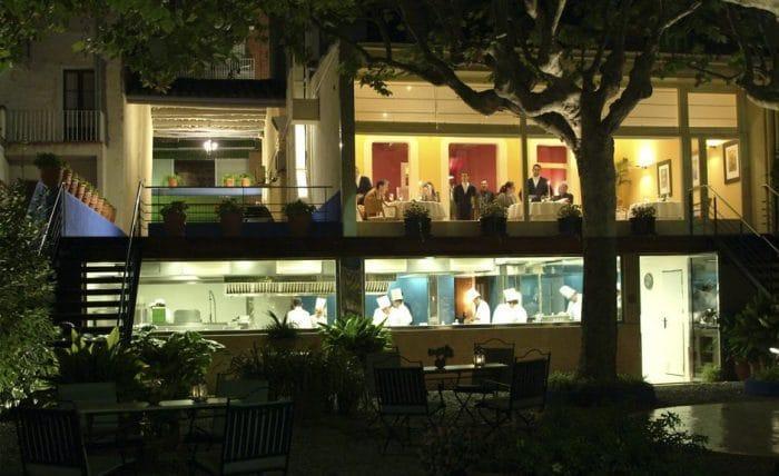 RestauranteSant Pau, en San Pol de Mar, Barcelona