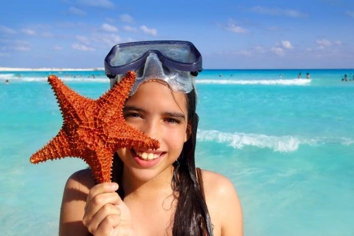 Vacaciones con los niños en Cancún