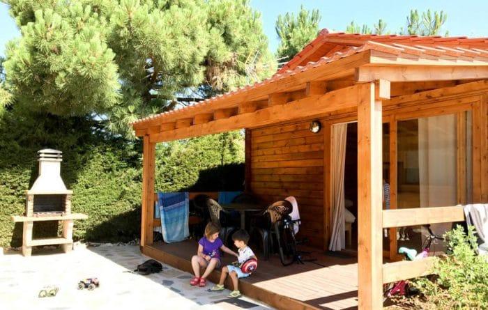 Camping rural Prades Park, en Prades, Tarragona