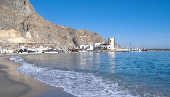 Camping Roquetas, en Almería