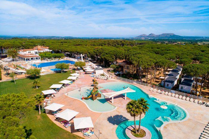Camping Sandaya Cypsela Resort, en Girona, Cataluña
