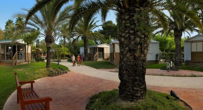 Camping Tamarit Park Resort, en Tarragona, Cataluña