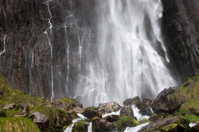 Cascada de Collados del Asón, en Cantabria