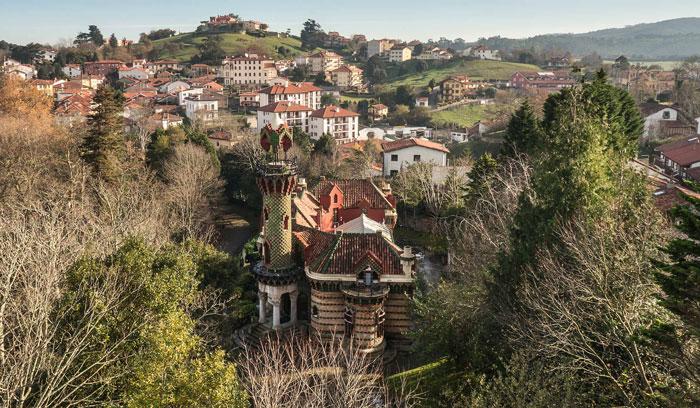 El Capricho, en Comillas, Cantabria