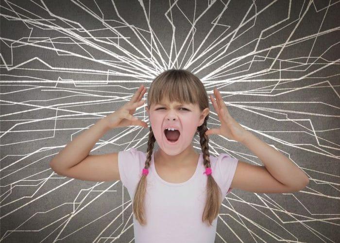 El comportamiento agresivo a causa de la ansiedad en los niños