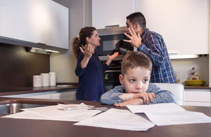Errores padres divorciados