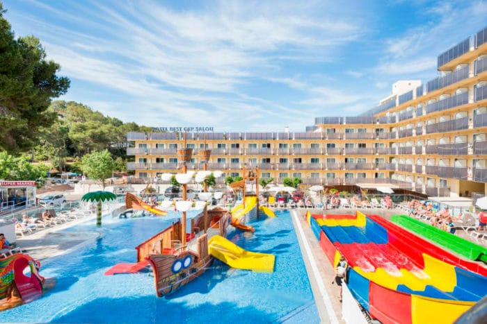 Hotel con toboganes Best Cap Salou, en Salou, Tarragona