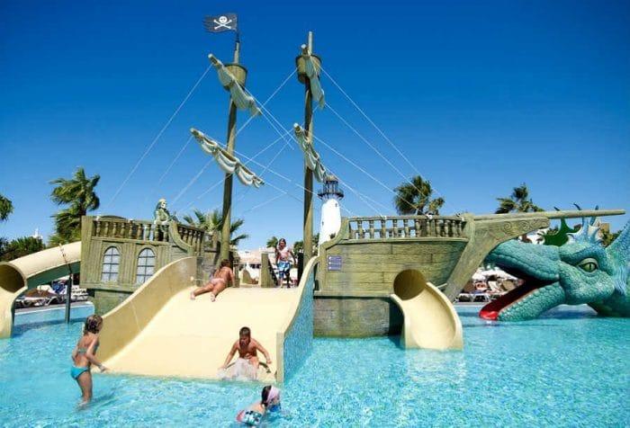 Hotel con toboganes ClubHotel Riu Chiclana, en Cádiz
