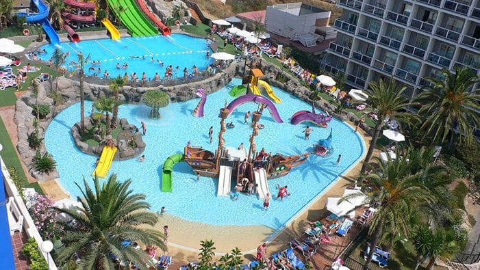 Hotel Los Patos Park, en Benalmádena, Málaga, Andalucía