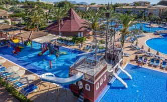 Hotel con toboganes Zafiro Can Picafort, Mallorca, España