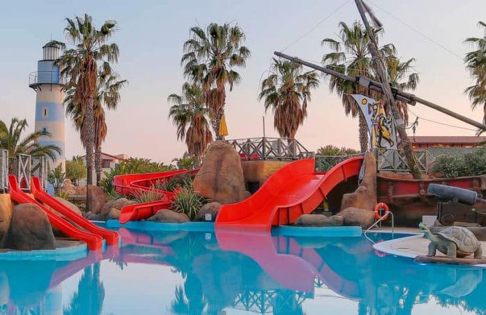 Hotel con toboganes Cambrils Park Family Resort, en Cambrils, Tarragona