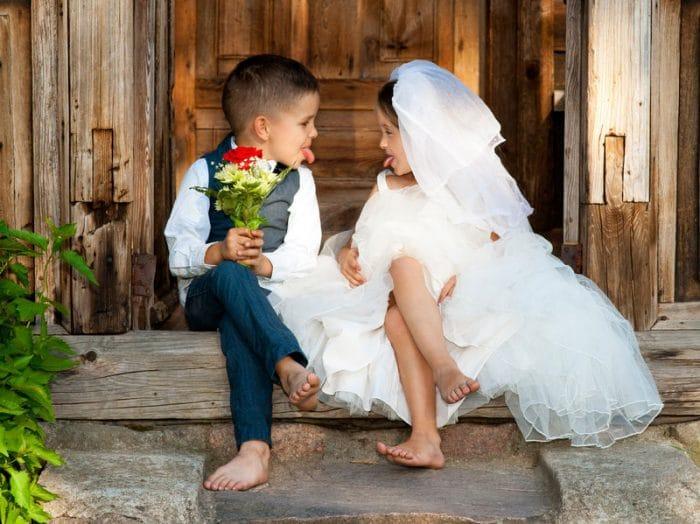 Incluir niños boda