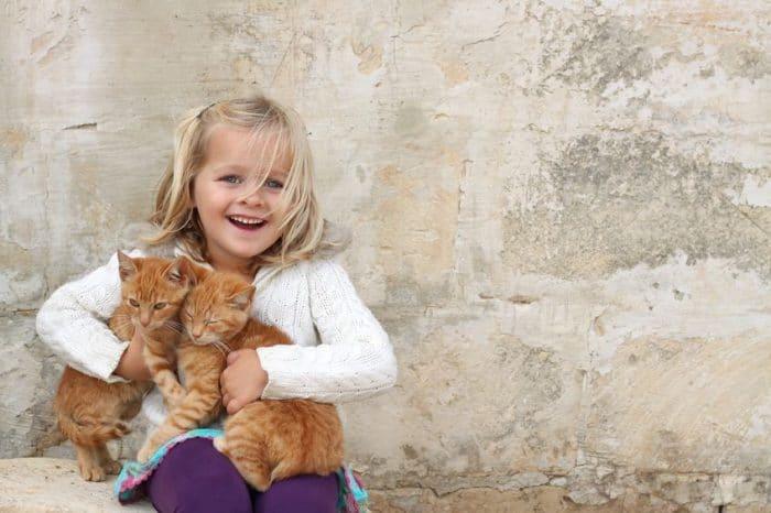 Las mascotas ayudan a los niños hiperactivos