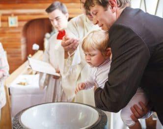 Los padrinos y el bautismo