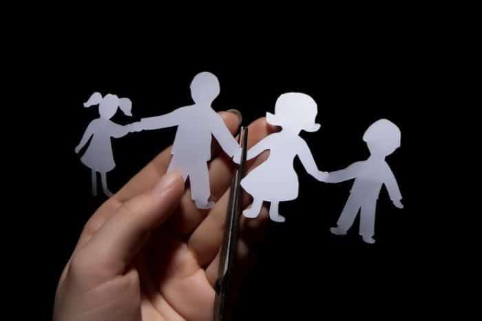 Padres divorciados errores