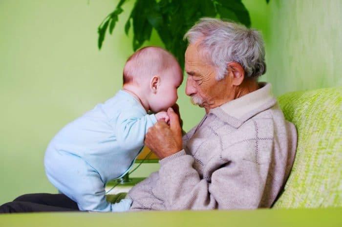Ser un abuelo maravilloso