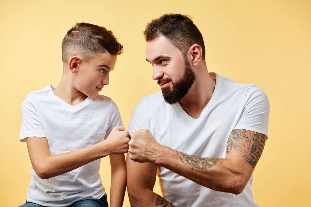 Si quieres ser un buen padre, no seas amigo de tu hijo - Etapa Infantil